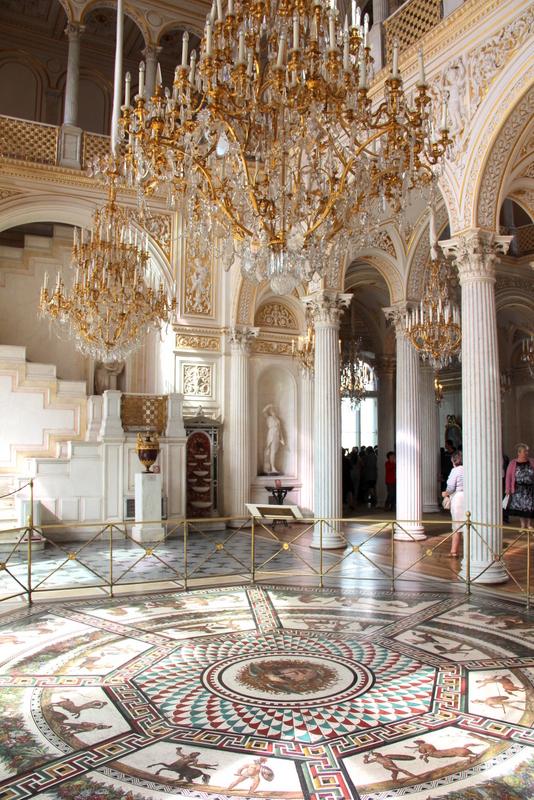 Salle aux mosaïques