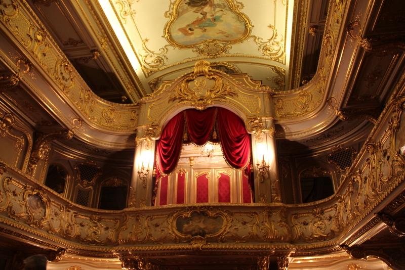 Théâtre italien dans le palais Ioussoupov