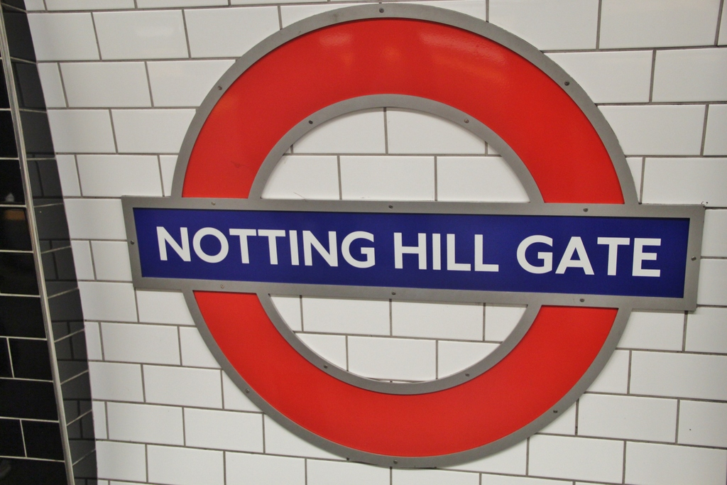 panneau-nothing-hill-gate-london