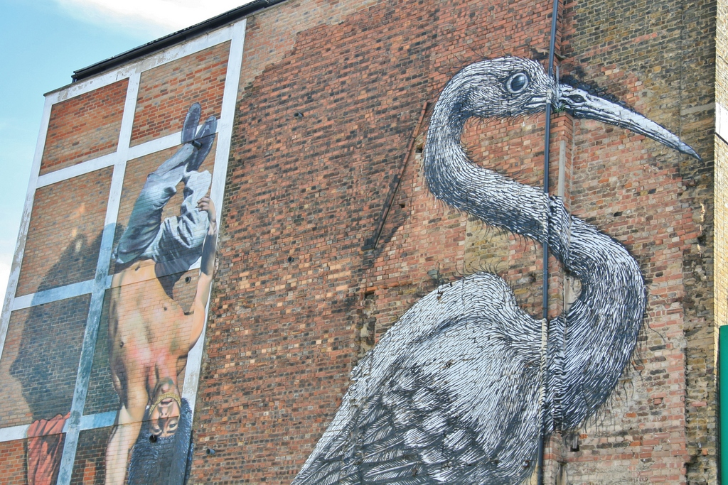 street-art-heron-brick-lane-london